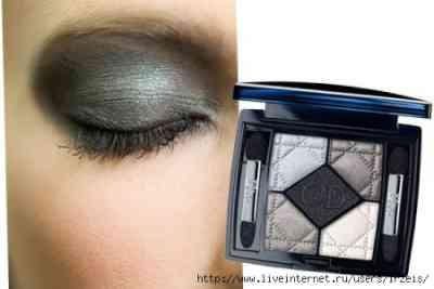 Двухцветный макияж глаз видео