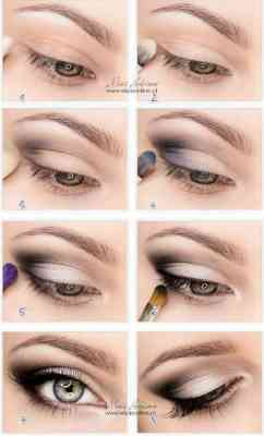 как красить глаза с тенями