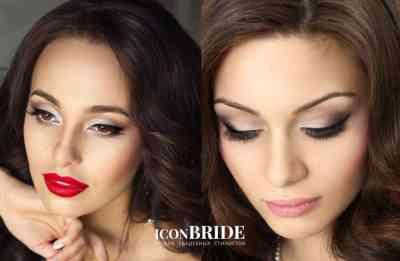 Свадебный макияж для брюнеток с темными глазами7