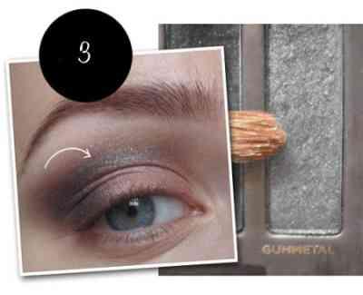 Фото макияж белым карандашом для глаз фото пошагово