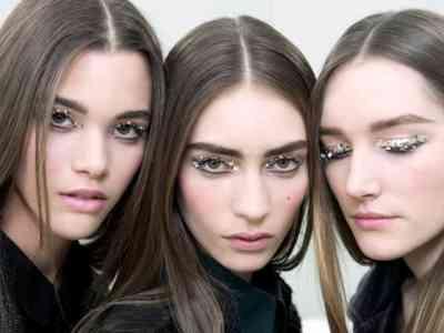Как сделать макияж глаз с блестками