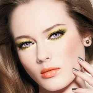 Макияж для светлой кожи и карих глаз фото до и после