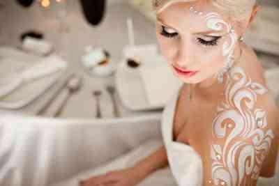 Макияж на свадьбу для серых глаз фото