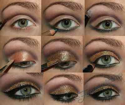 Как накрасить глаза пошагово