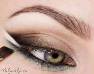 Макияж глаз мастер класс фото